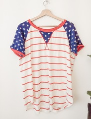 Starry Stripes Tee- MH