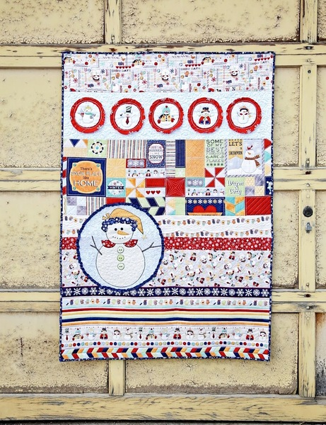 Snowplace Like Home Quilt