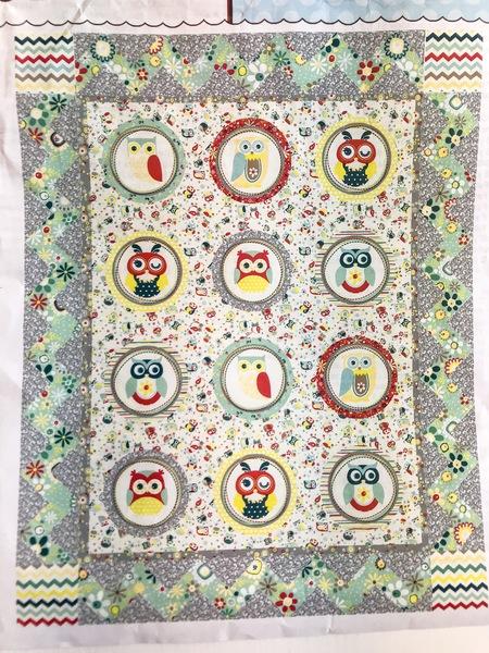 Owl Bullyseye Quilt