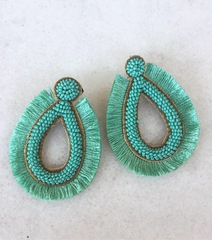 Sway Fringe Earrings -  MH