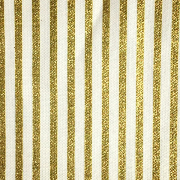 Gold stripe- Fabric