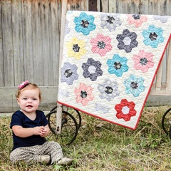 Grandmothers Garden Quilt kit