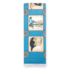 Buckaroo Blocks Blue- Fabric