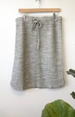 Stone Drawstring Skirt
