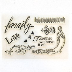 Together we have it all Stamp