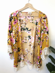Mustard Silo Kimono
