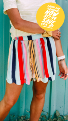 Mercury Stripe Shorts