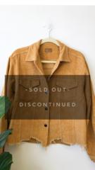 Mustard Corduroy Jacket