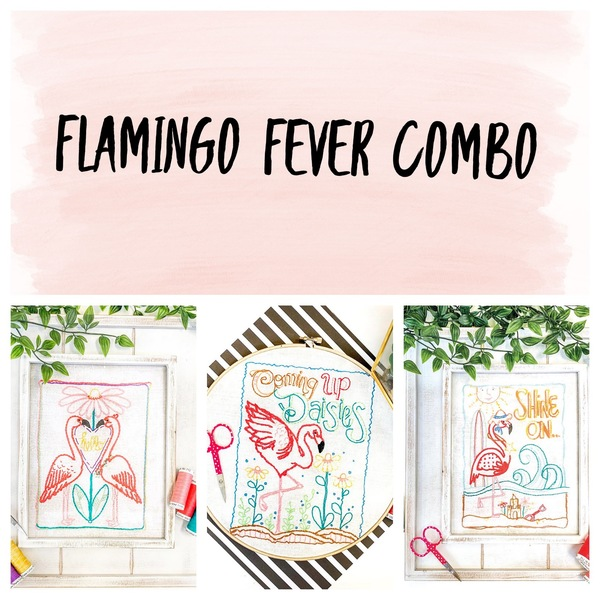 Flamingo Fever Stitch Combo