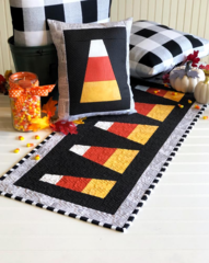 Candy corn tablerunner