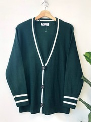 Hunter Green Track Cardi