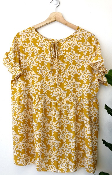 Mustard Sammy Blouse-FB
