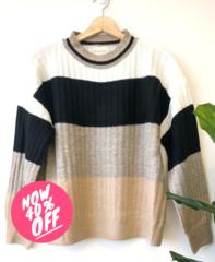 Cozy Stripe Pullover