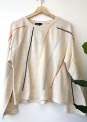 Ivory Stitch Pullover