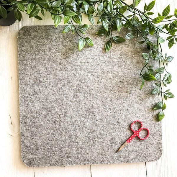 100% Wool ironing mat