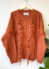 Rust Kendall Sweater