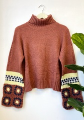 Brick Crochet Sweater