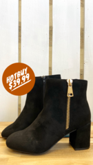 Black Sophia Boot