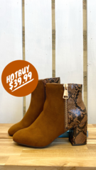 Tan Sophia Boot