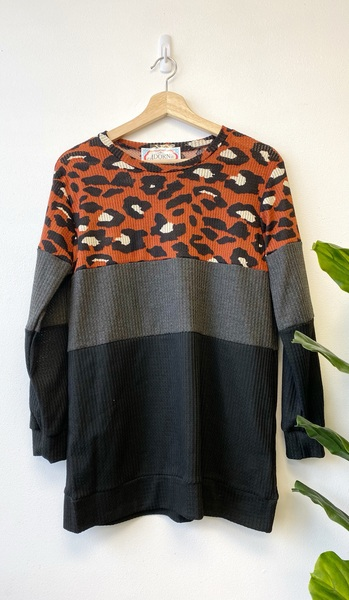Cheetah Nora Top