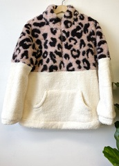 Blush Faux Fur Sweater