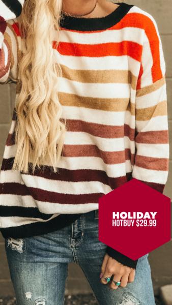 Rohan Multi Stripe Sweater