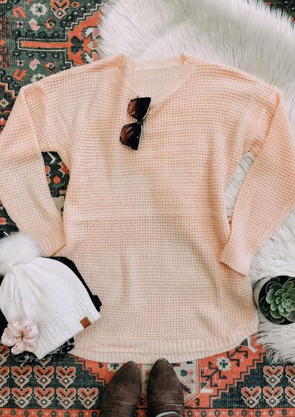 Blush Tessa Knit Pullover