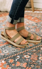 Khaki Sandals