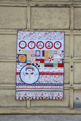 Snow place like home quilt