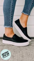 Black Comfy Kicks