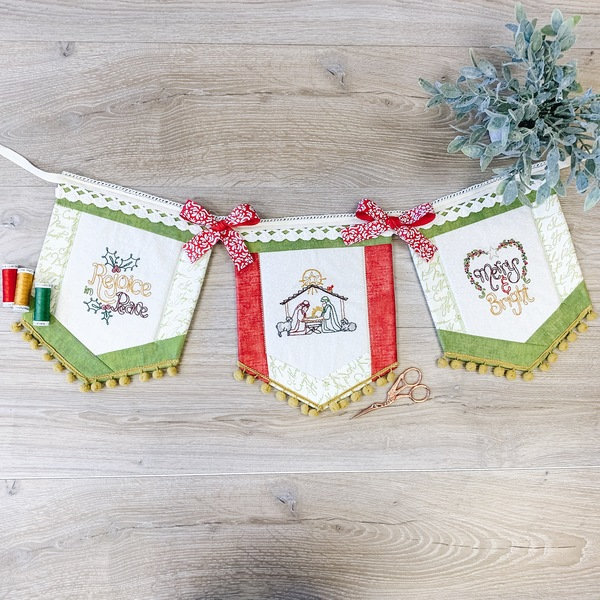 Nativity Stitch Banner