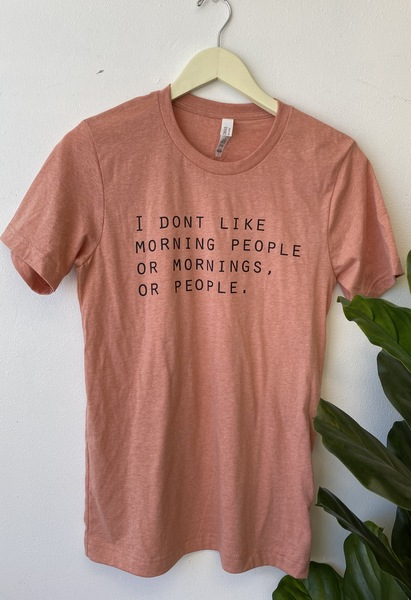 Less People Tee