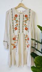 Pocahontas Ivory Dress