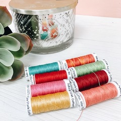 Love Tea Towel THREAD KIT