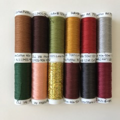Nativity Stitch Banner Threads