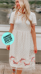 Sweet Pea Midi Dress