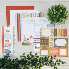 Time Flies Paper Pack