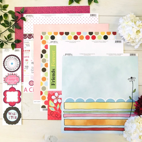 Circle of Friends Paper Pack