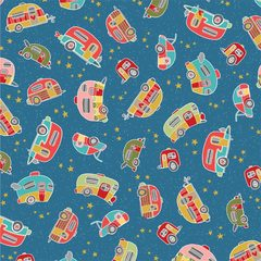 Camping dreams_Fabric