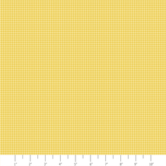 Tiny Check Yellow-Fabric