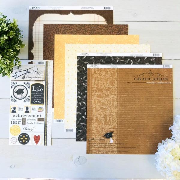 Graduation Paper Pack