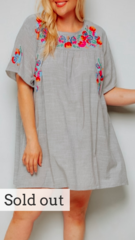 Giselle Plus Tunic Dress