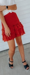 Bella Ruffle Skirt