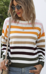 Tibby Stripe Pullover