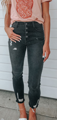 Astrid BLK Denim