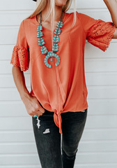 Emme Rust Blouse