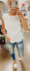 Piper Lace Blouse