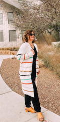 Verity Stripe Duster Cardi