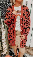 Kathy Cheetah Cardi