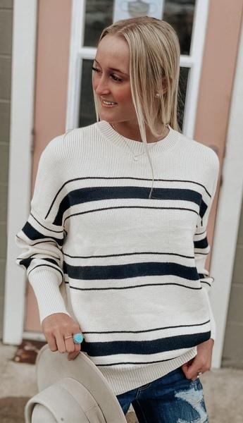 Gwen Stripe Sweater